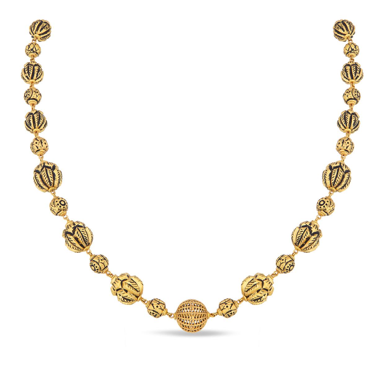 Designed Gold Balls Chain