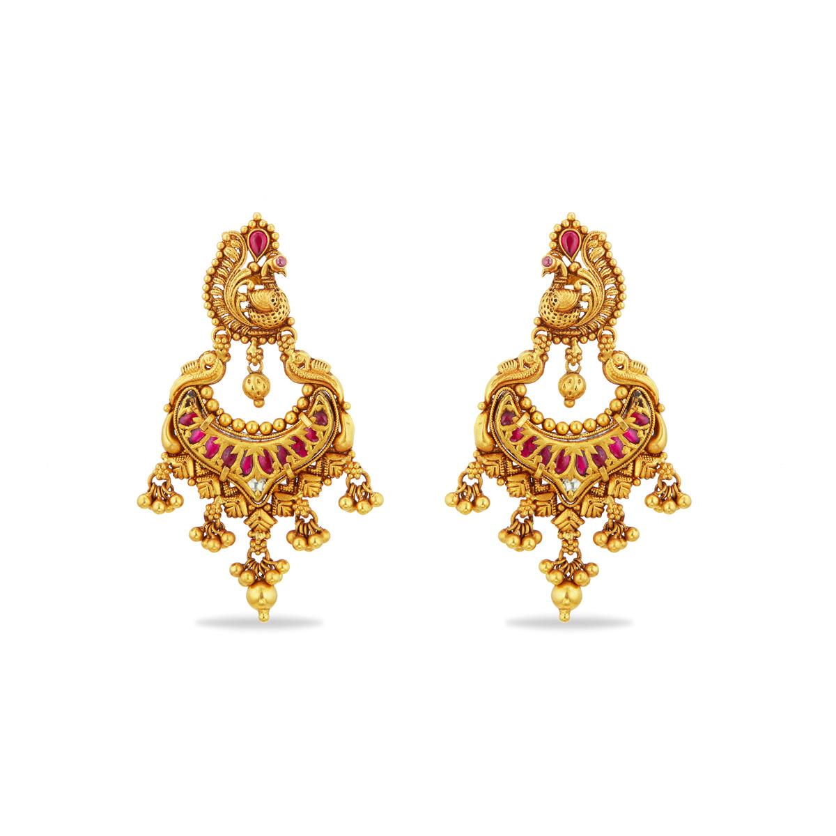 Ornate and Opulent Chandbali