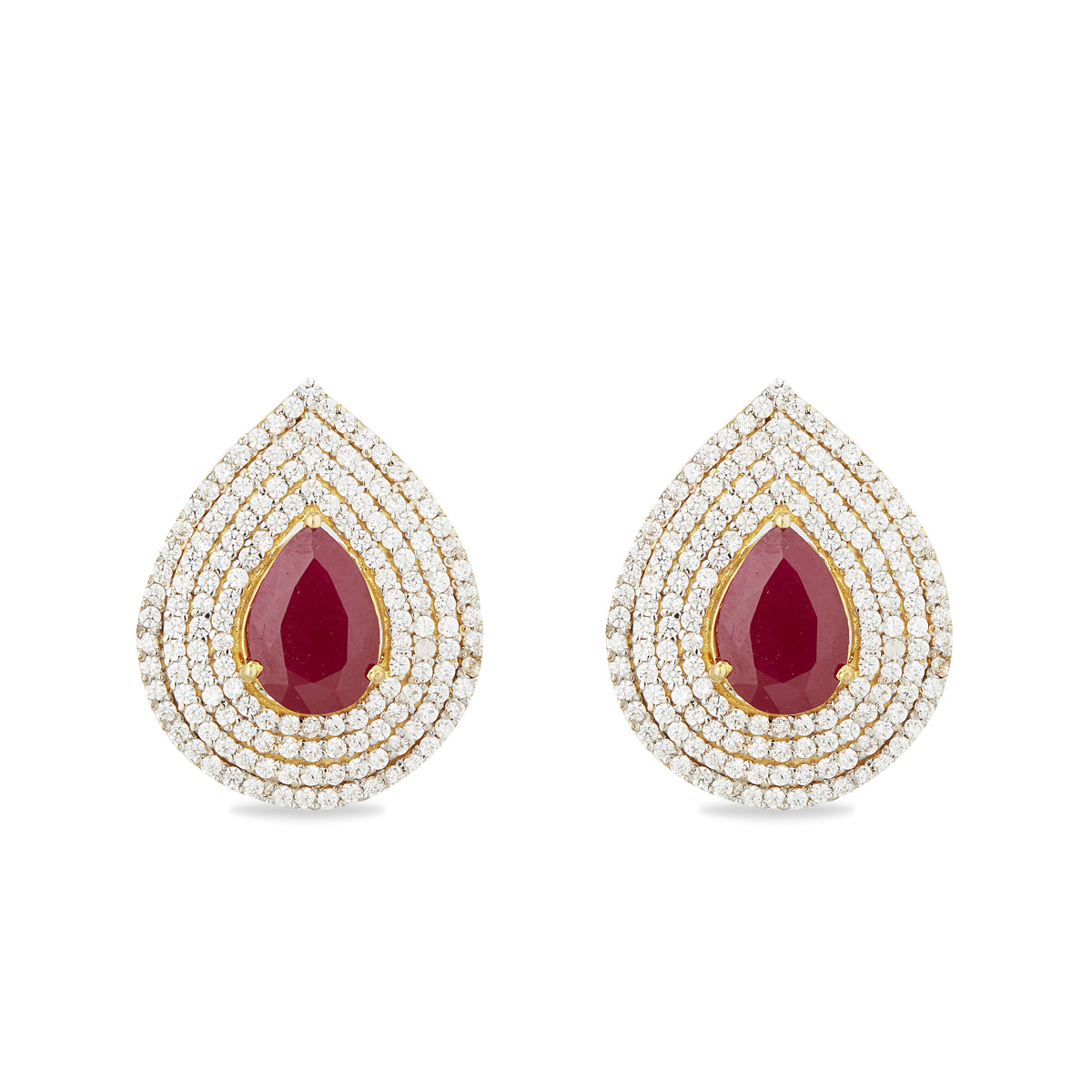 The Wardine Stud Earrings