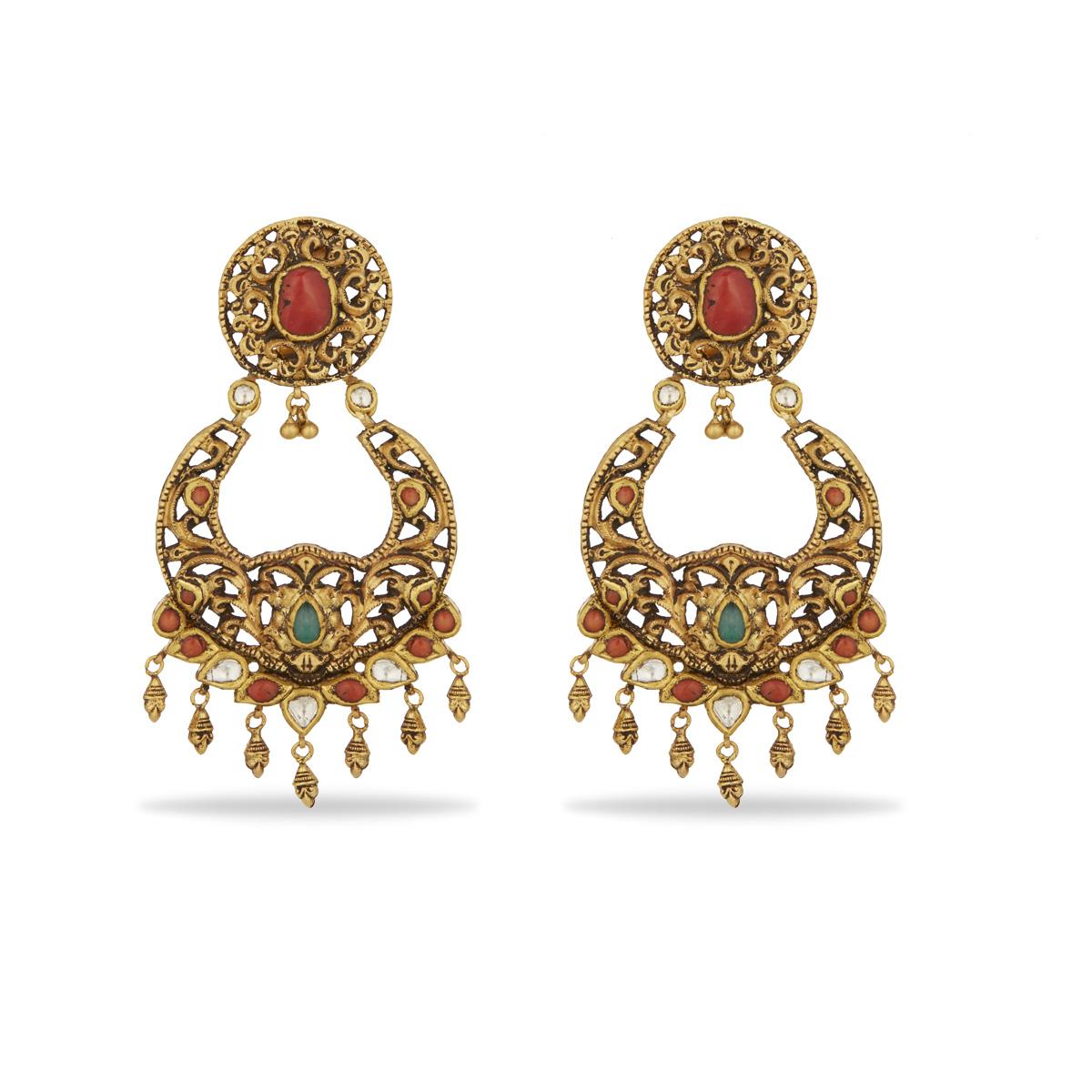 Nayaab Chand Bali Earrings
