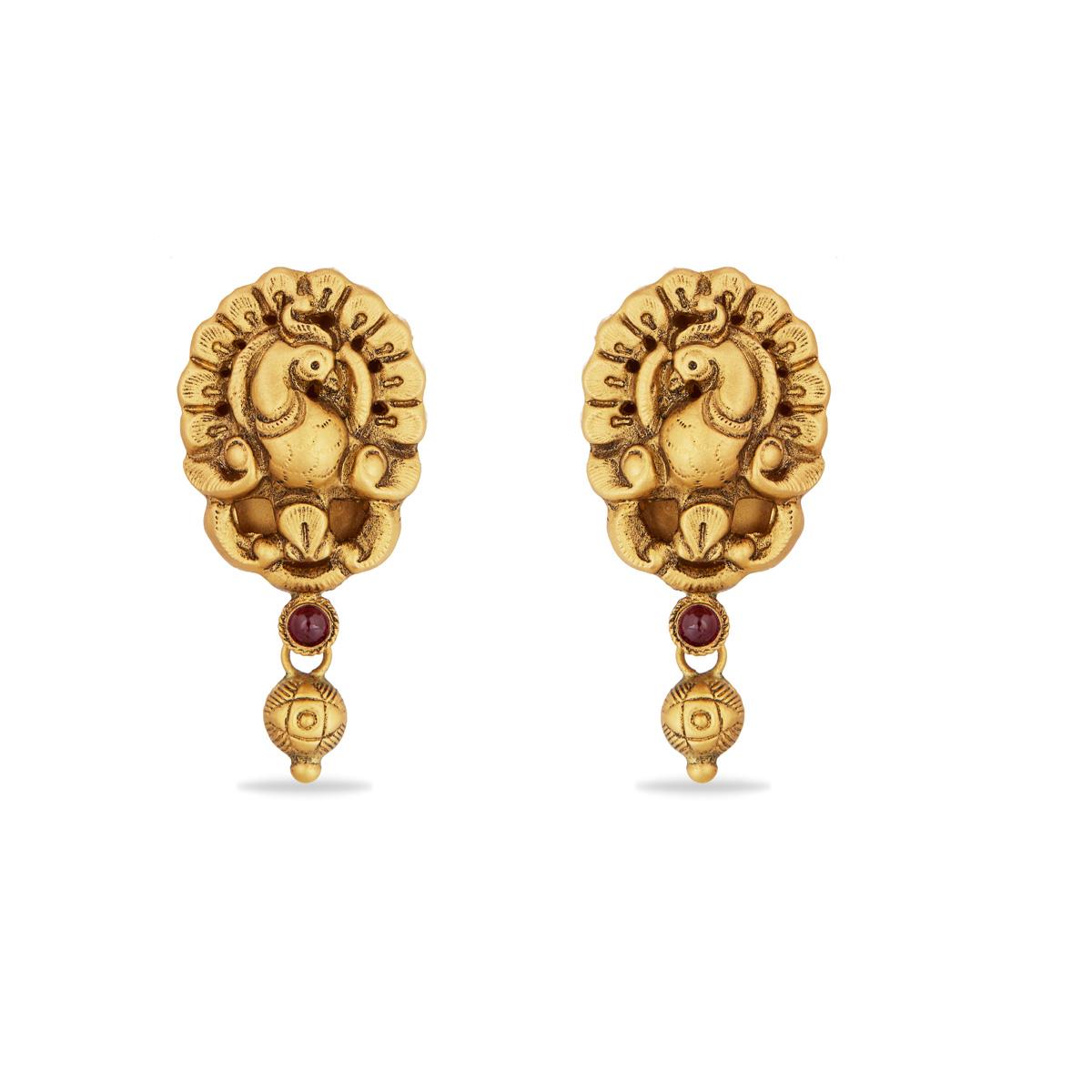 Peafowl Earrings