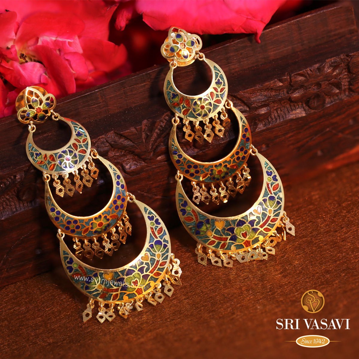 Bonny Chandbali Earrings
