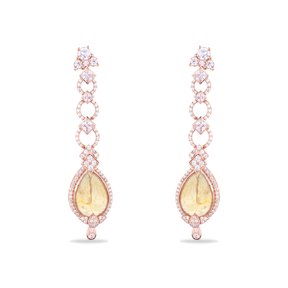 Delicate Swarovski Earrings