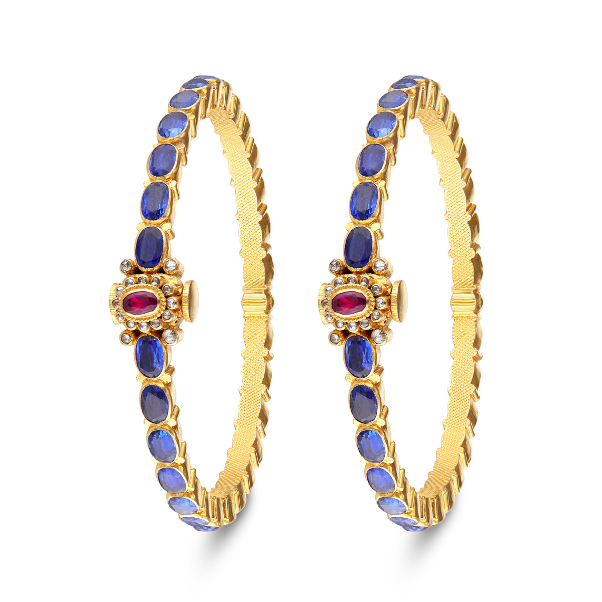 Oval Rubies&Blue Sapphires!