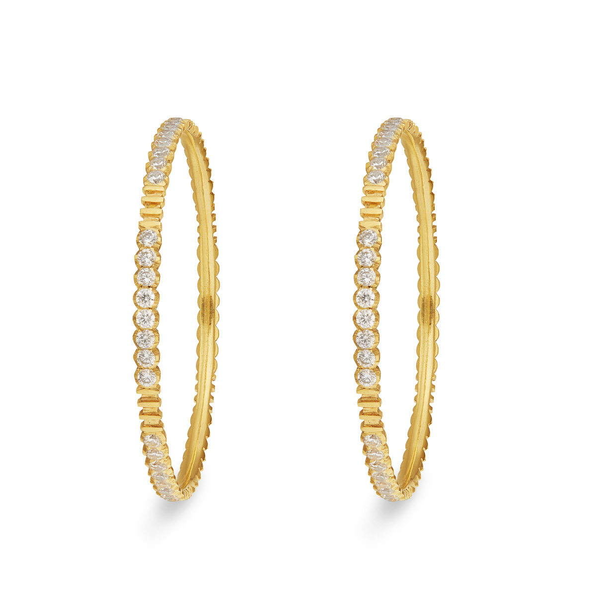 Handcrafted CZ Bangles
