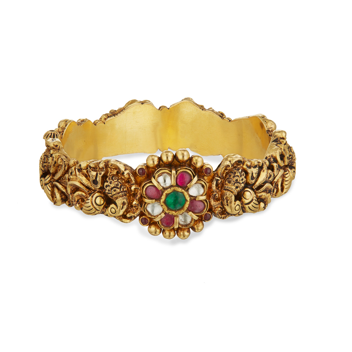 Magnificent Floral Bangle