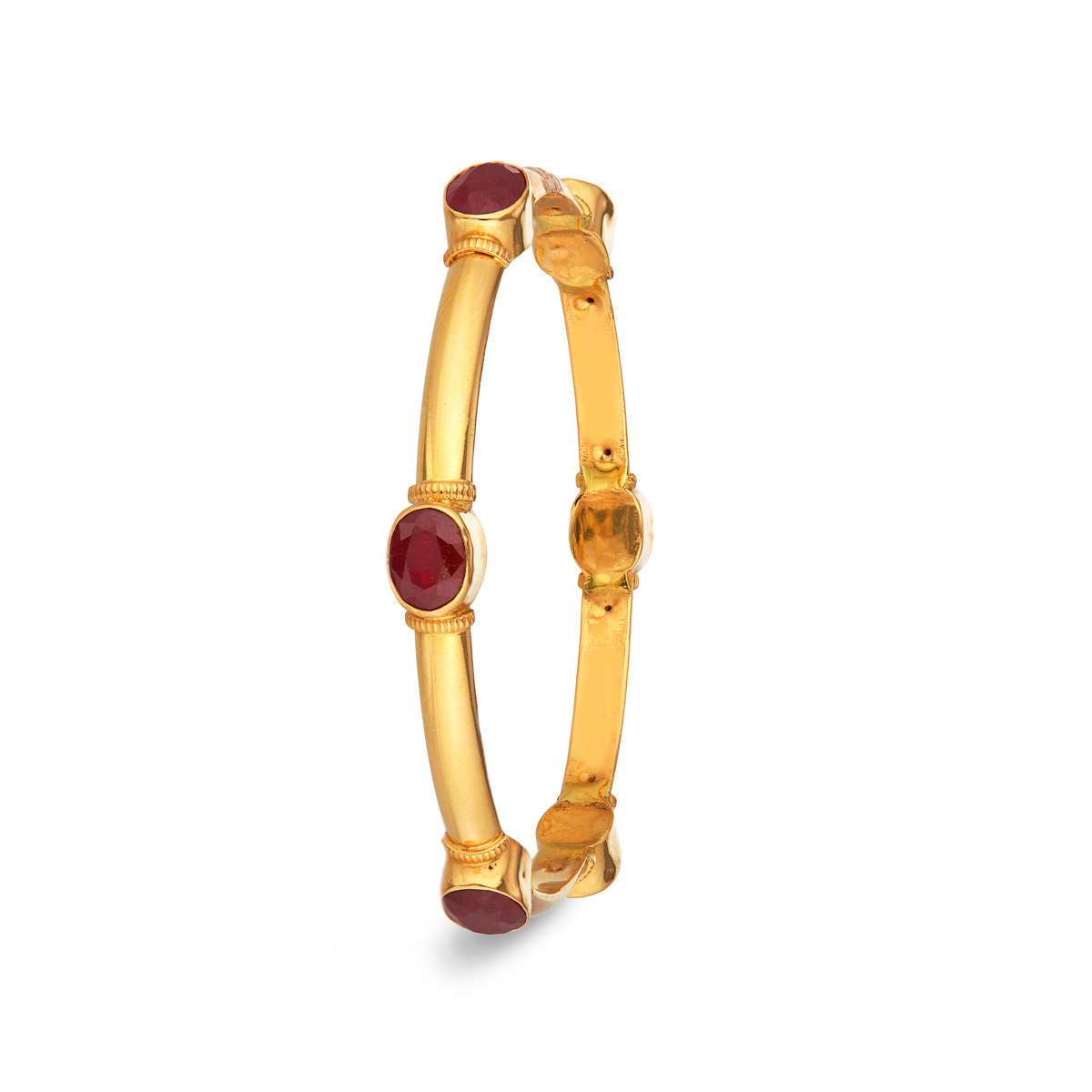 Elegant Ruby Bangle