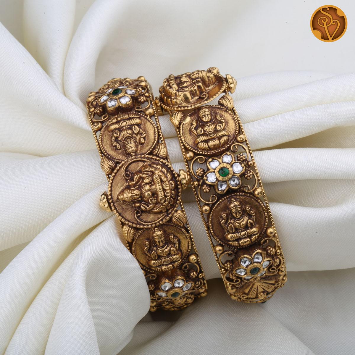 Prasannakshi Antique Bangles