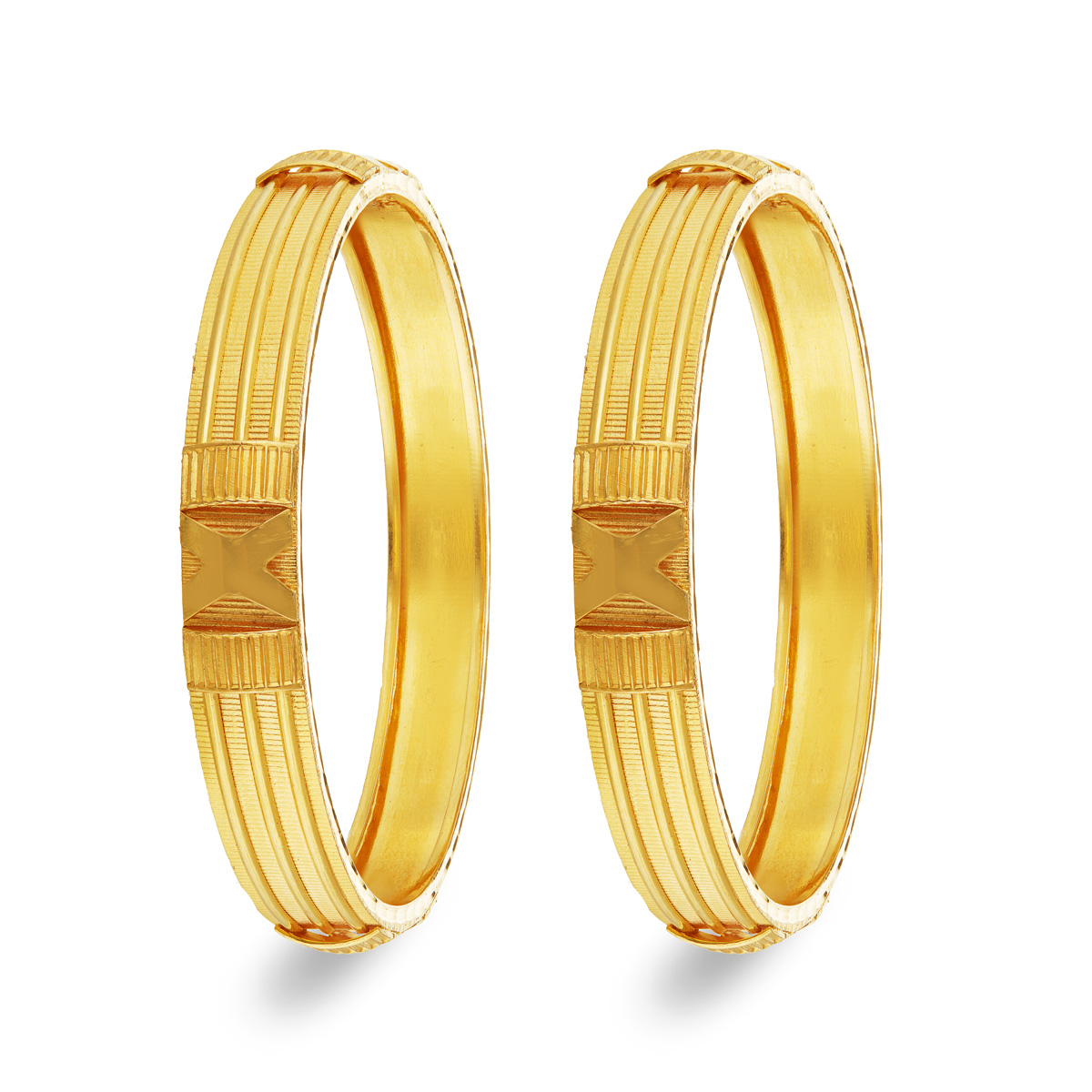 Solid Pair of Bangles