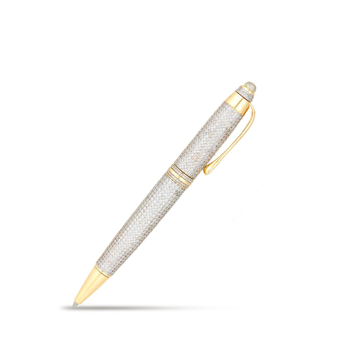 Glittering Golden Pen