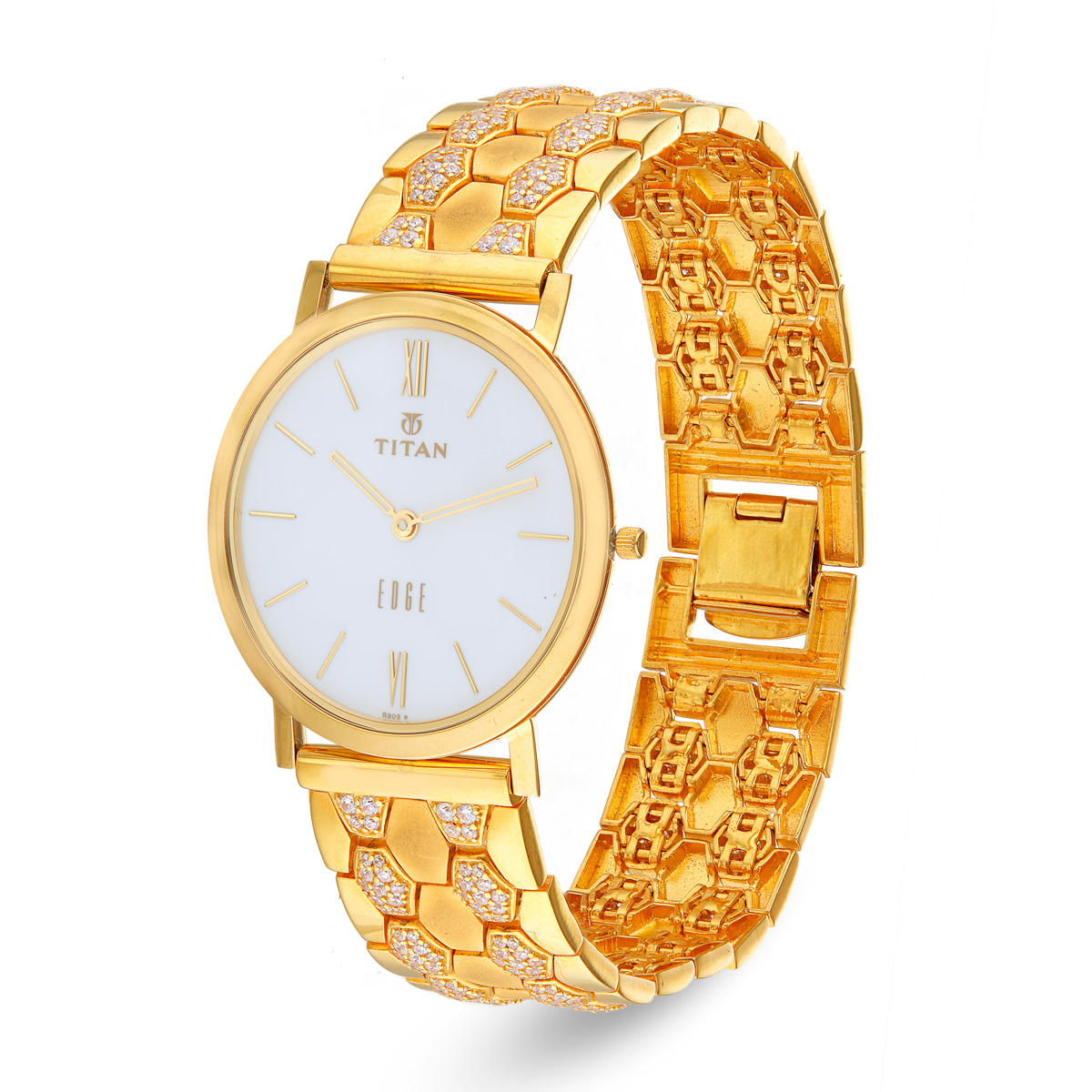 Men's Watch in Gold