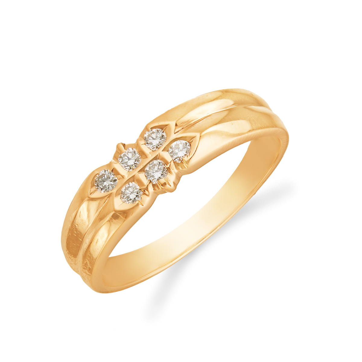 2-Layered Stunning Dimaond Ring
