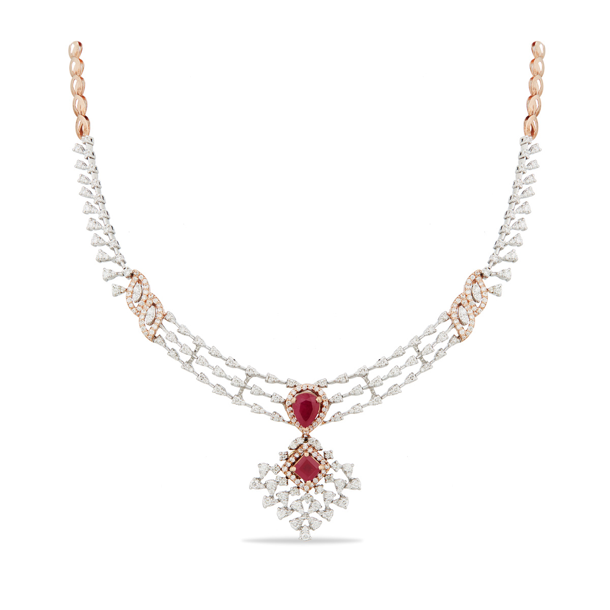 The Daizy  Diamond Necklace
