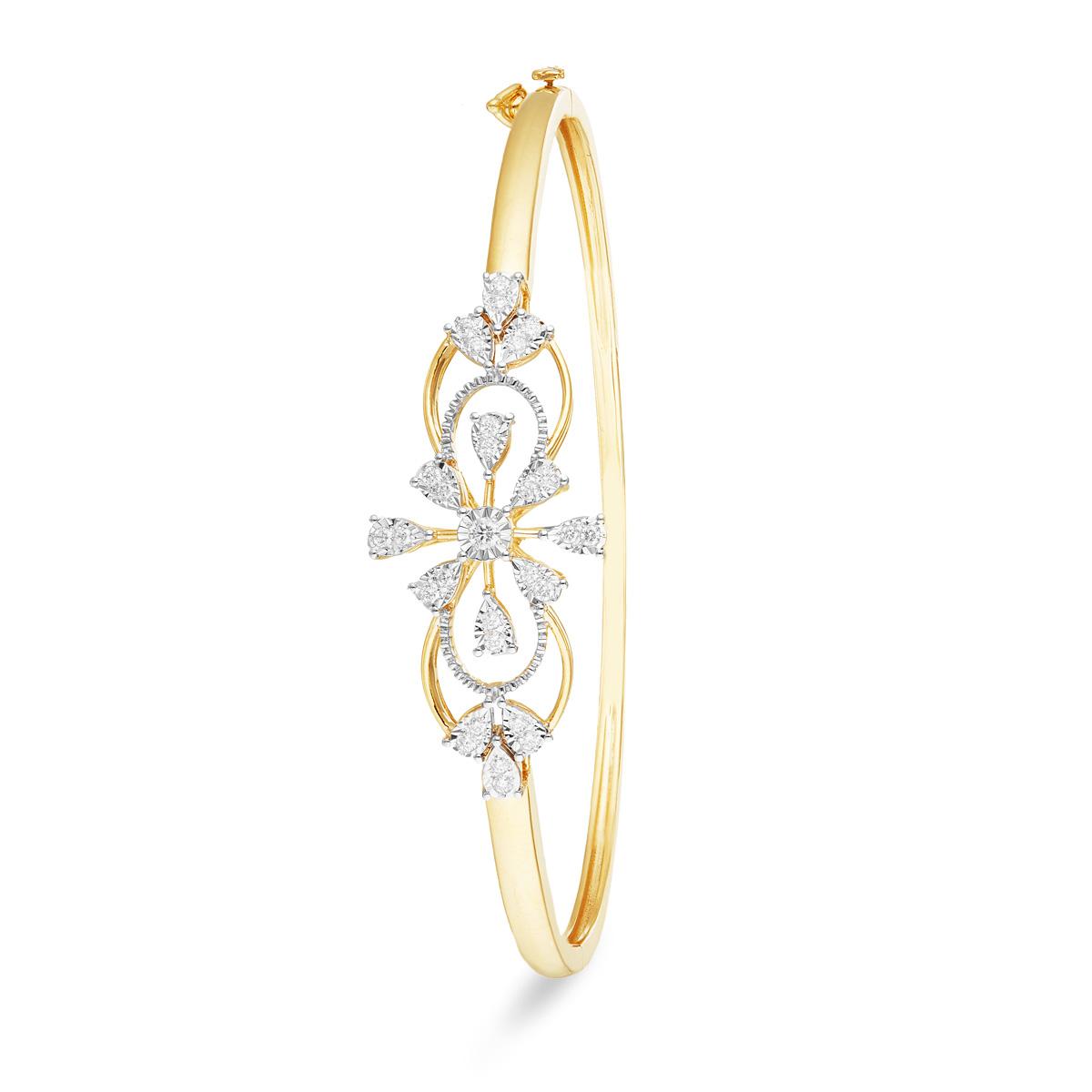 Floral Infinity bracelet