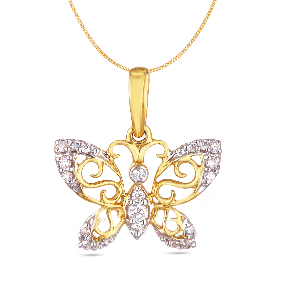 Butterfly Ornate by Diamonds