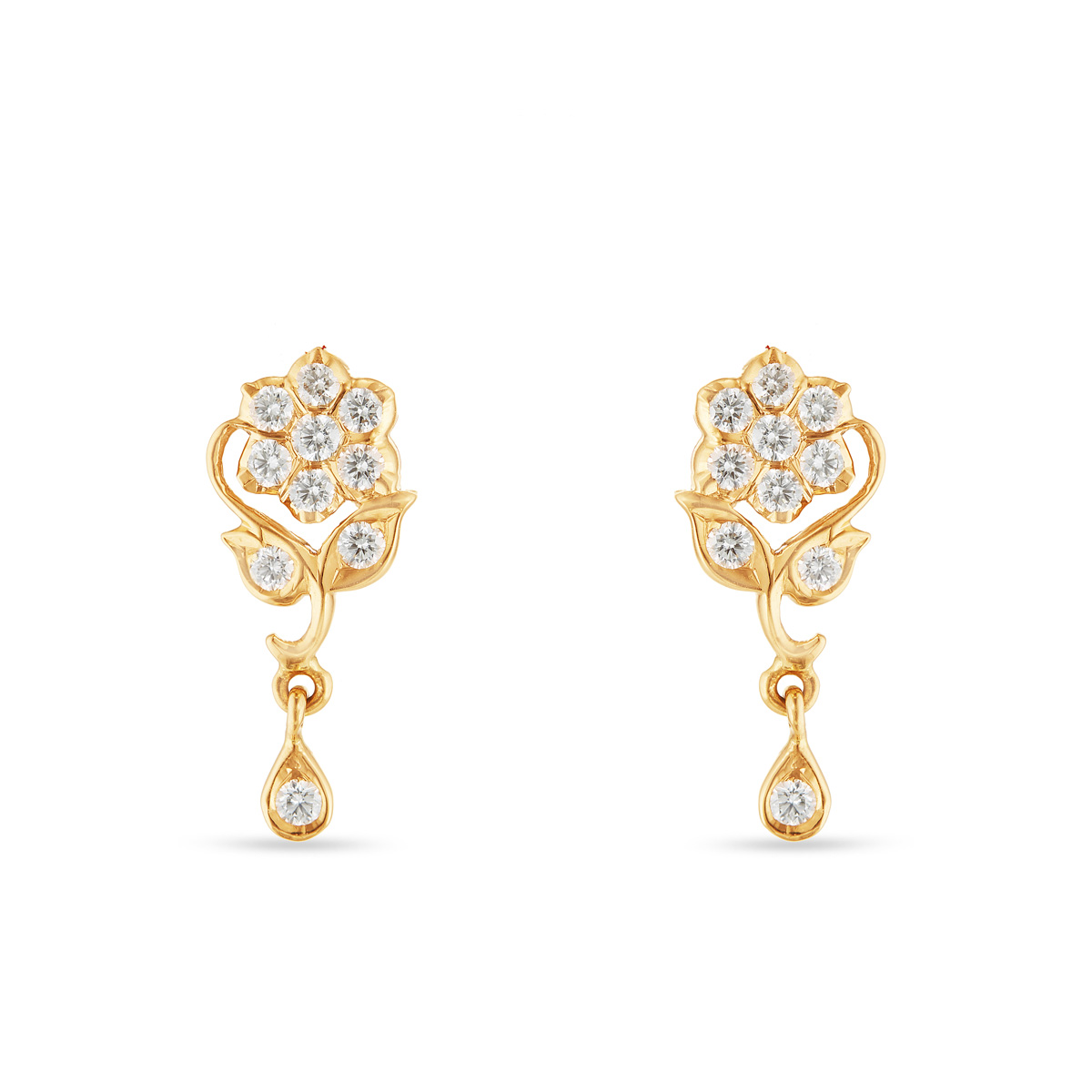 Sloane Sisyrin Drop Earrings