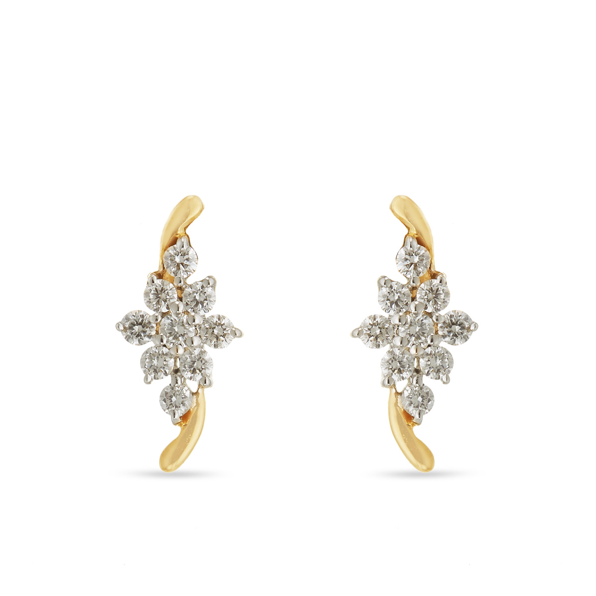 Classy Diamond Earrings