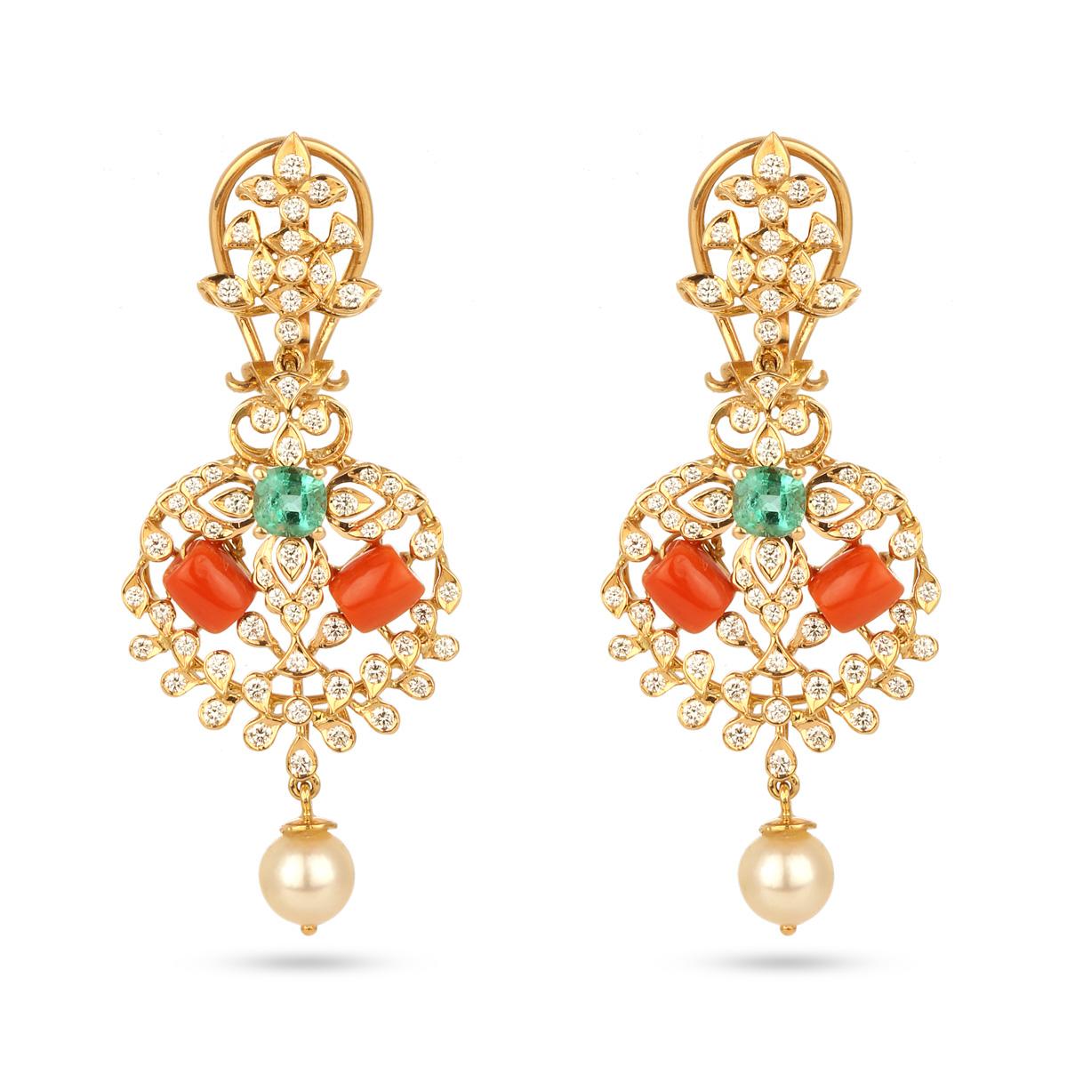 Chrysolite Earrings