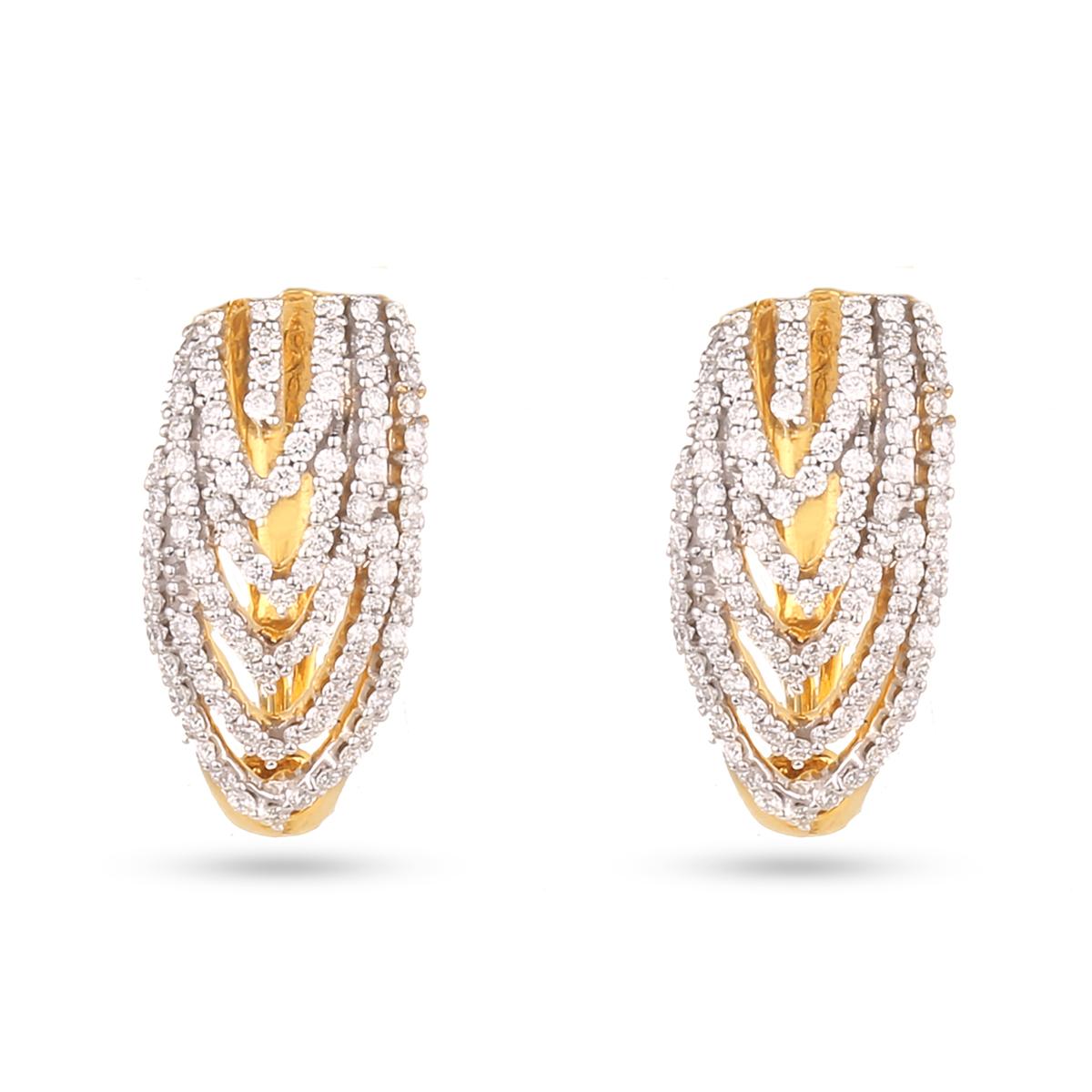 Majestic Diamond Earrings