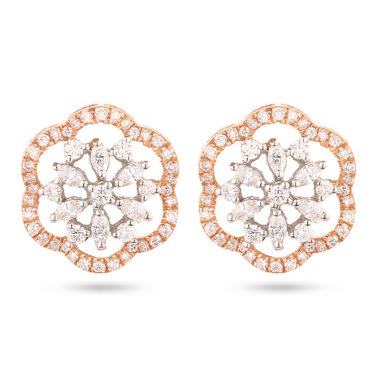 Brilliant Diamond Earrings