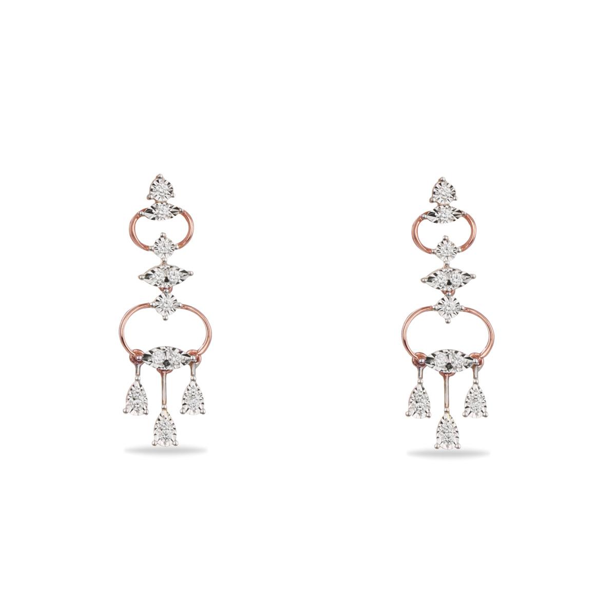 Rhomboid Earrings