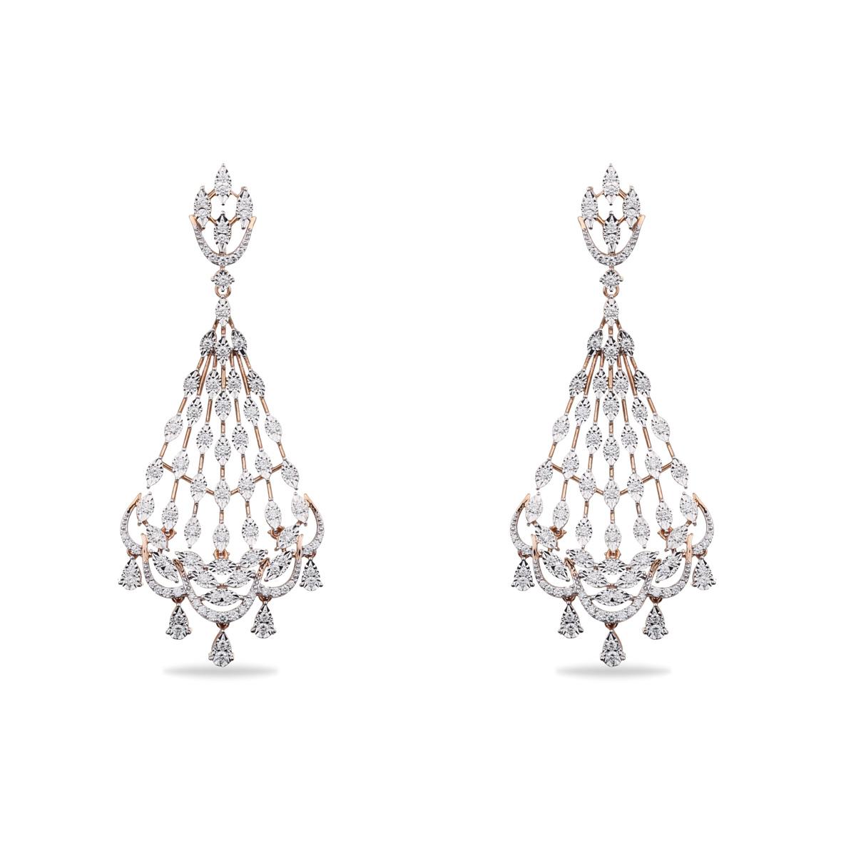 Dactylio Diamond Earrings