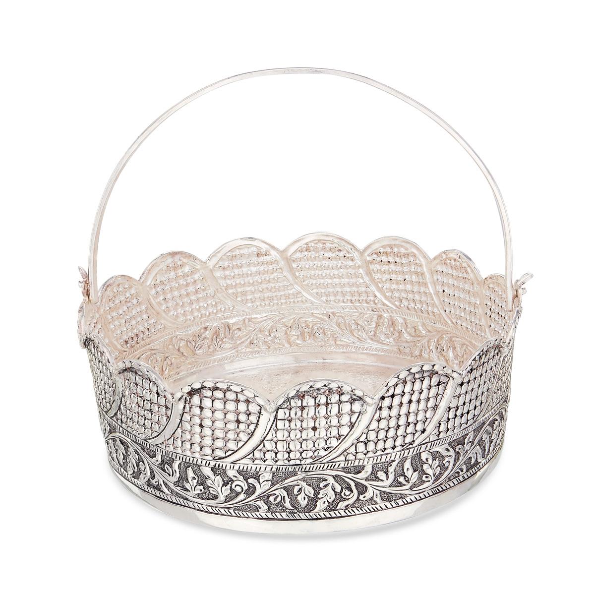 Antique Flower Basket