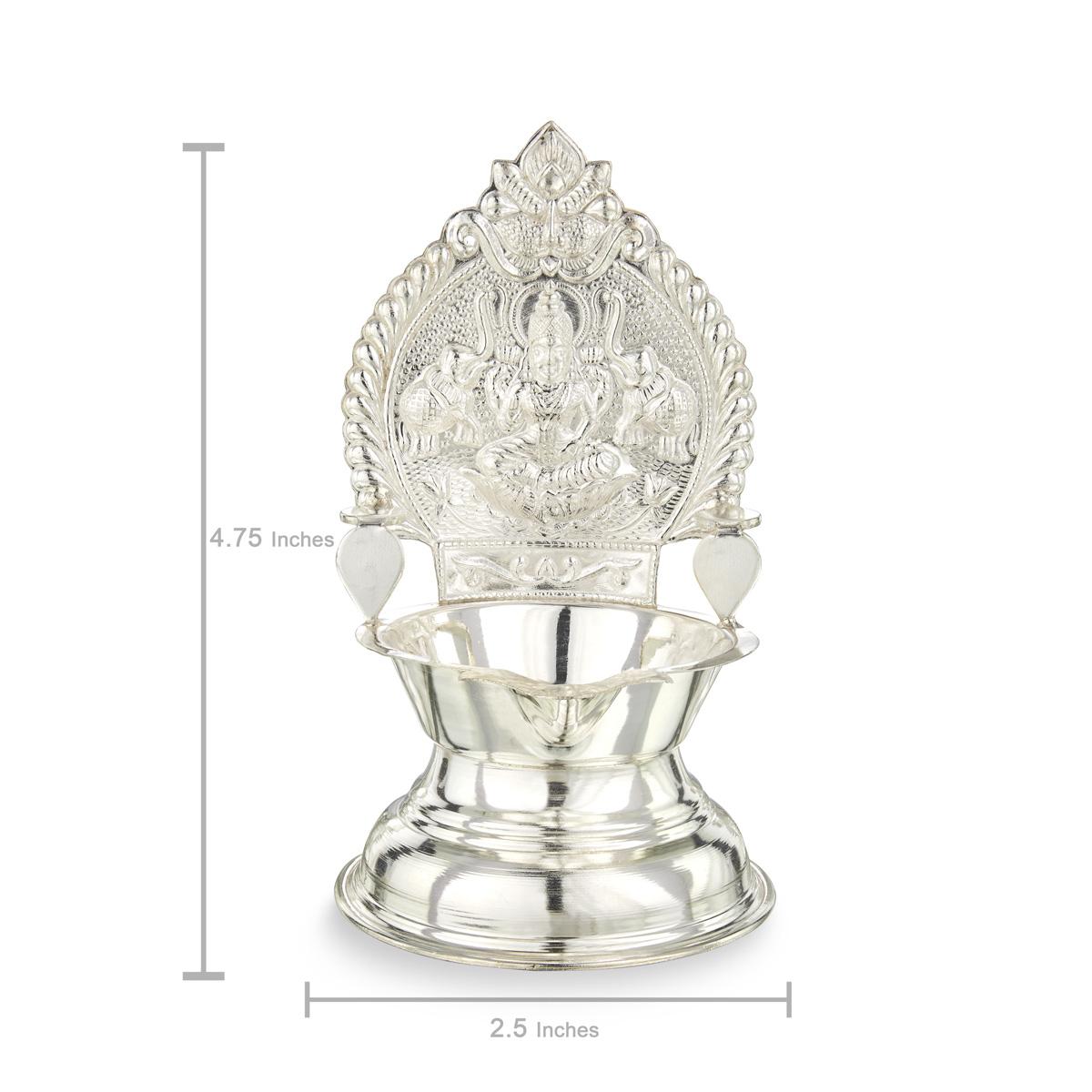 Silver Kamatchi Lamp