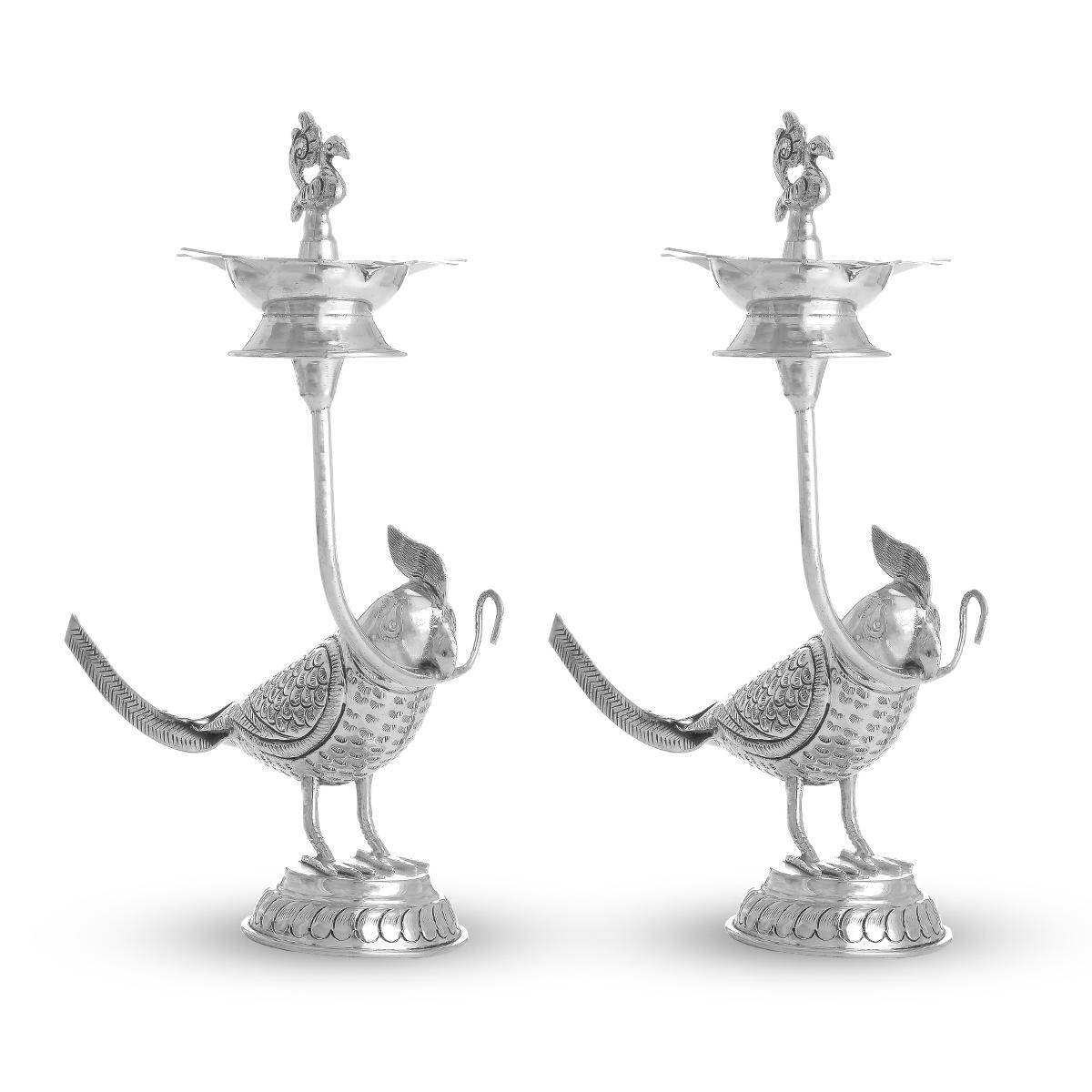 Mimic Silver Lamp