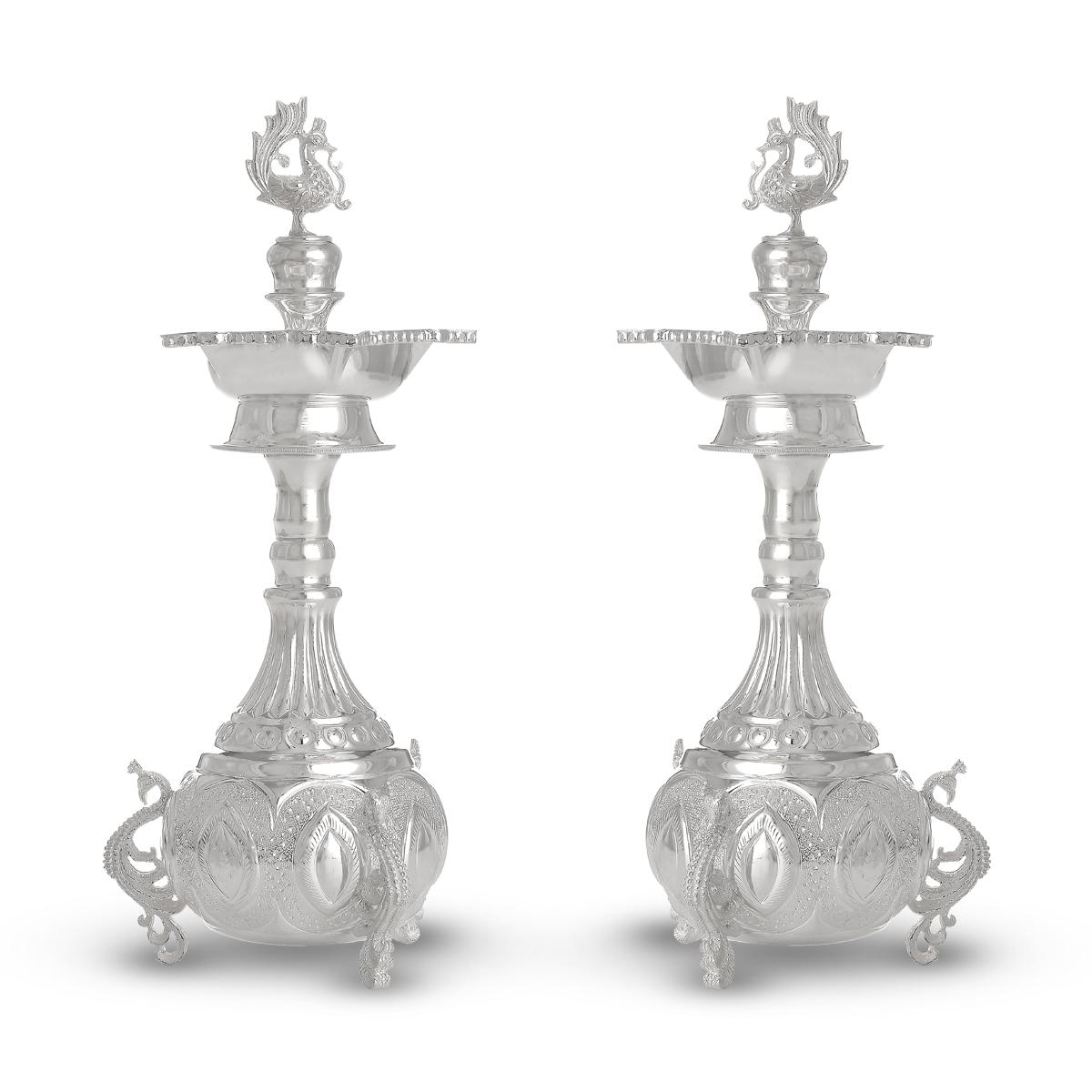 Pavan Silver Lamp