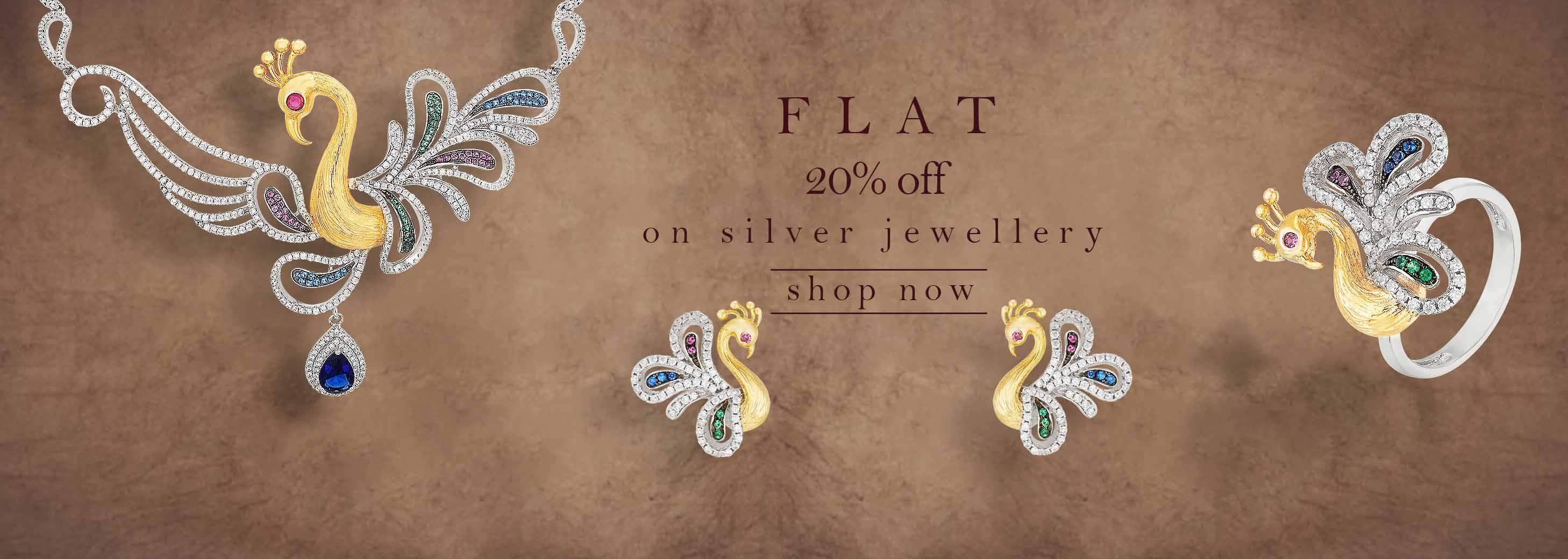 Silver Jewellery offer