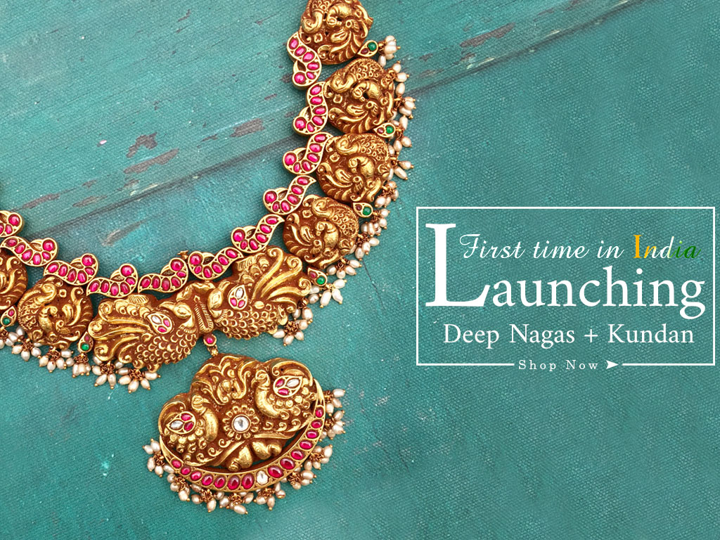 Buy South Indian Jewellery Online | Traditional Indian Gold